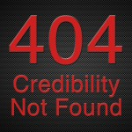 404 Credibility Not Found
